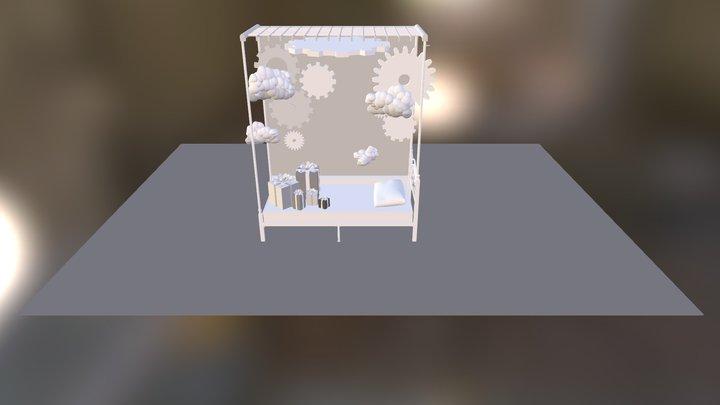 blackdrop 3D Model