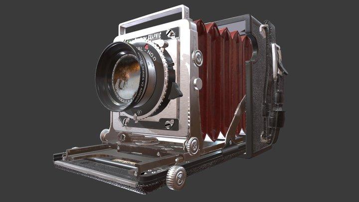 Camera Graflex - Century Graphics 3D Model