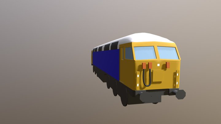 British Rail Class 56 3D Model