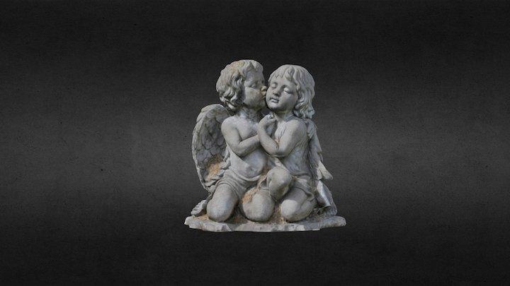 Two Angels 3D Model