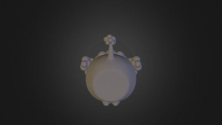 OLBI 126mm 3D Model