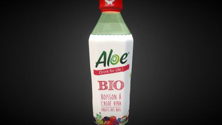 Aloe Bio 50cl - Real Time - Fruits des bois 3D Model