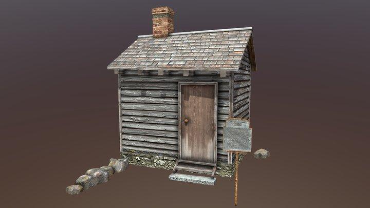 Hidden Town 3D Slave Dwelling 3D Model