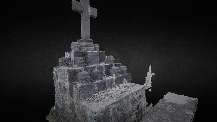 Tzompantli 3D Model