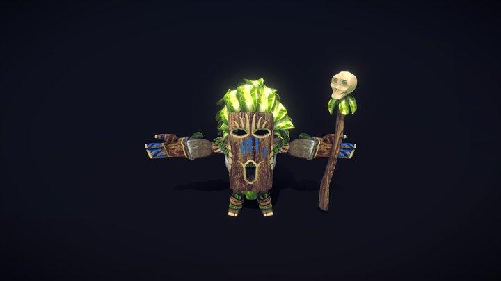 Tribal Man 3D Model
