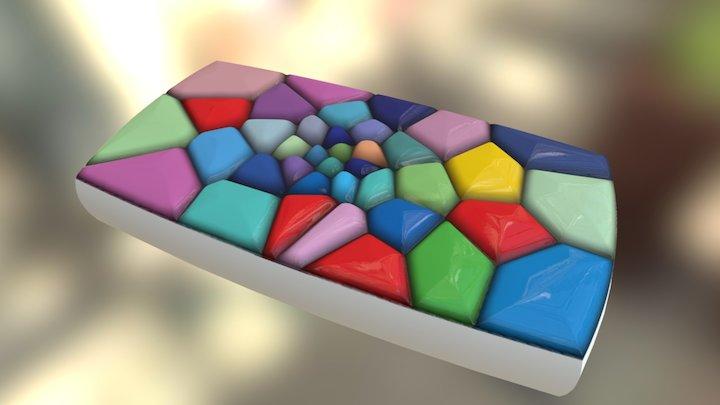 Oil Diffuser 4 3D Model