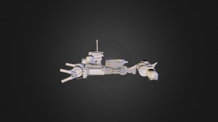 Patrolcraftexperiment 3D Model