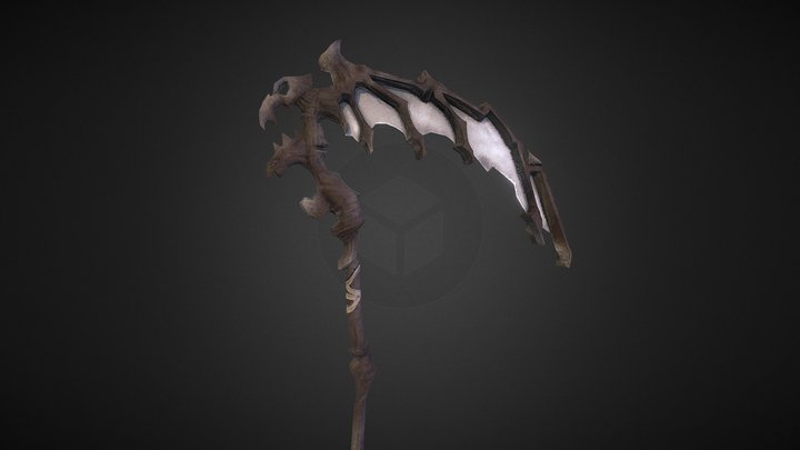 Darksiders: Scythe of Death 3D Model
