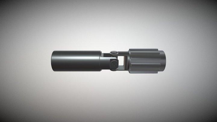 U-joint 3D Model