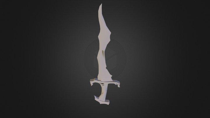 CurvyDagger 3D Model