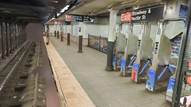 Wall Street Subway Station - Real Virtual Zone 3D Model
