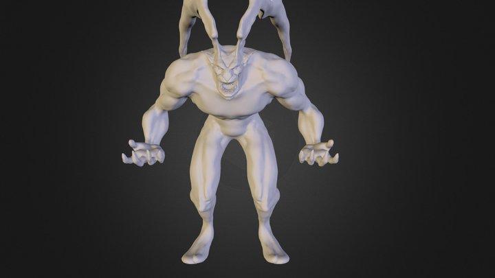 FF8 Ifrit 3D Model