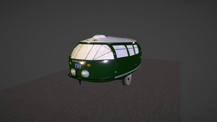 Dymaxion Car 3D Model