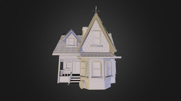Mrs. Frederix House 3D Model