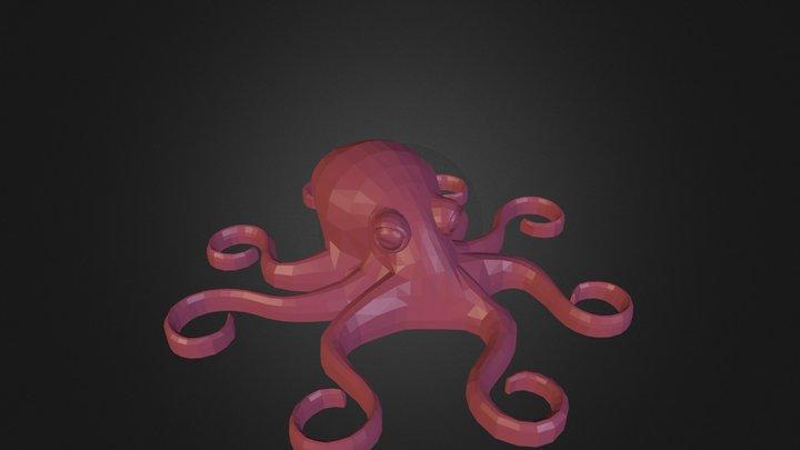 octopus2.stl 3D Model