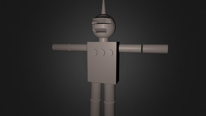 robotin 3D Model