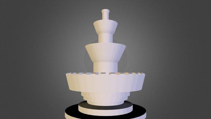 fuente 3D Model