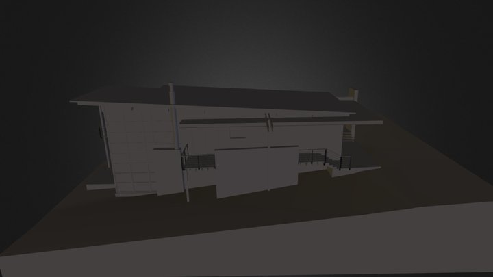 samplehouserevit.fbx 3D Model