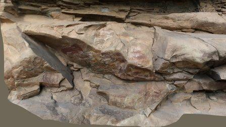 Eland Cave rock art shelter, South Africa 3D Model