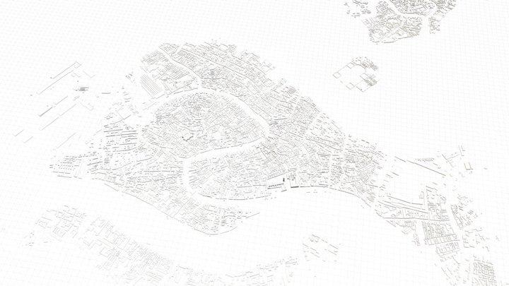 VENICE CITY 3D 3D Model
