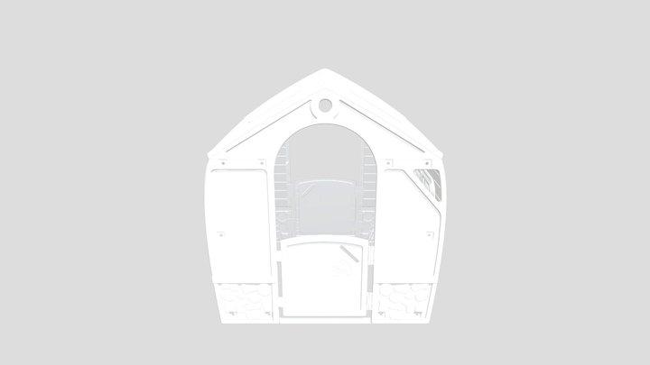happy house 3D Model