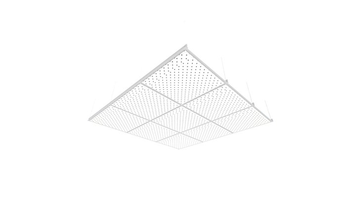 Sektor Interior Solutions - Forte Perforated 3D Model