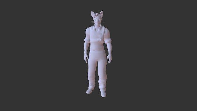 Defeat 3D Model