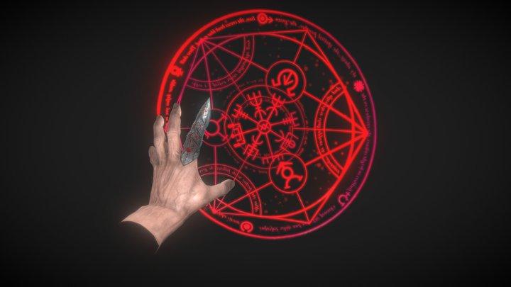 Magic Ring 3D Model