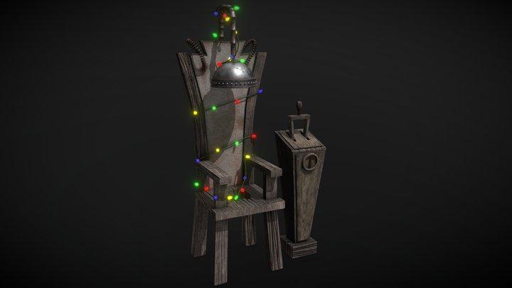 Jack Skellington's Electric Chair 3D Model