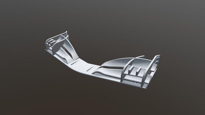 F1 2018 wing 3D Model