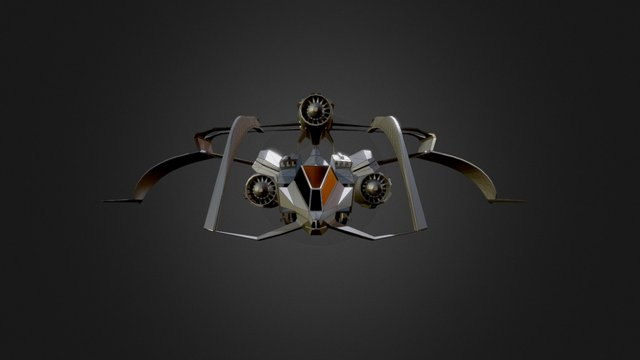 Speed Fox concept 3D Model