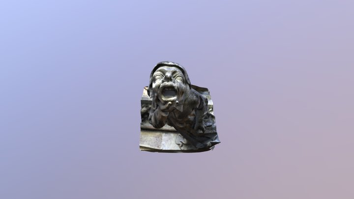FB Gargoyle51 3D Model