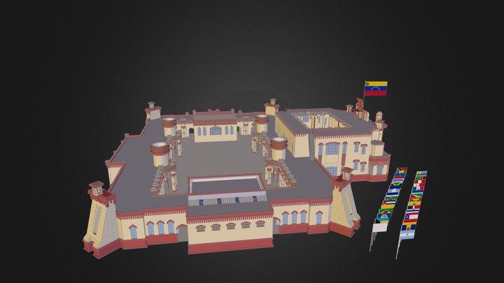 Cuartel de la Montaña 4F 3D Model