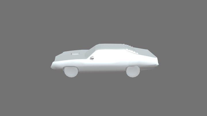 Ford Torino Cobra (1970) Finished Mesh 3D Model