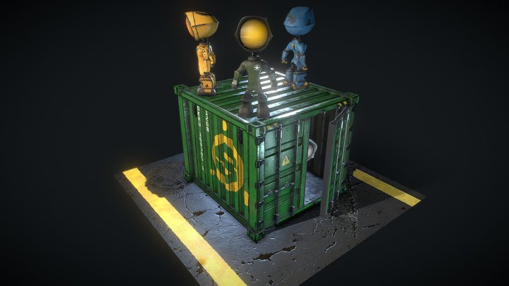 Lampsters 3D Model