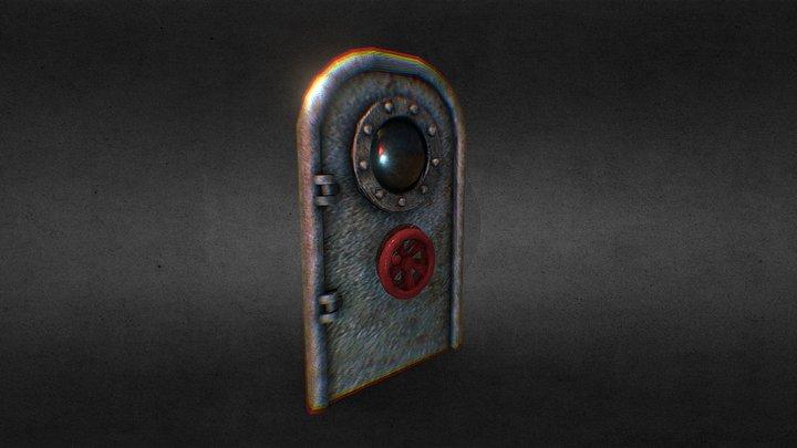 Submarine Door 3D Model