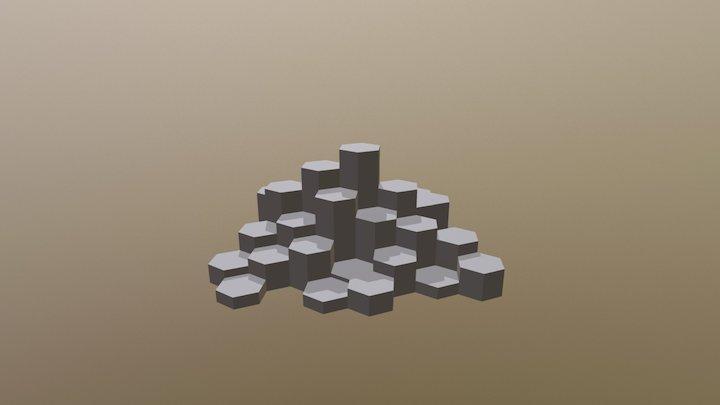 Giant's Causeway 3D Model