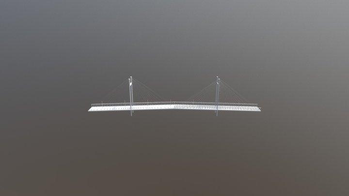 Hoogly Bridge 3D Model