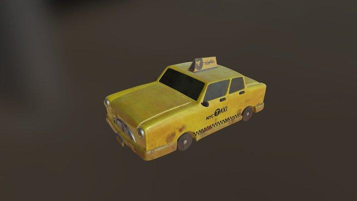 Taxis 3D Model