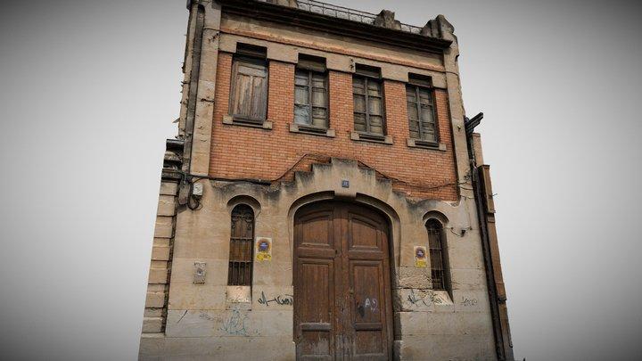 Art Nouveau Garage / House Casa Laporta 3D Model