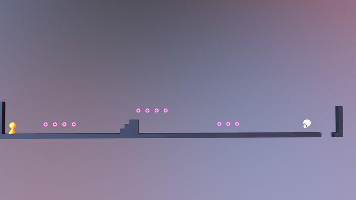 Level 1 - Nightrush 3D Model