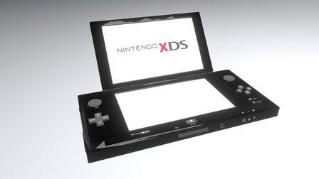 Nintendo XDS 3D Model
