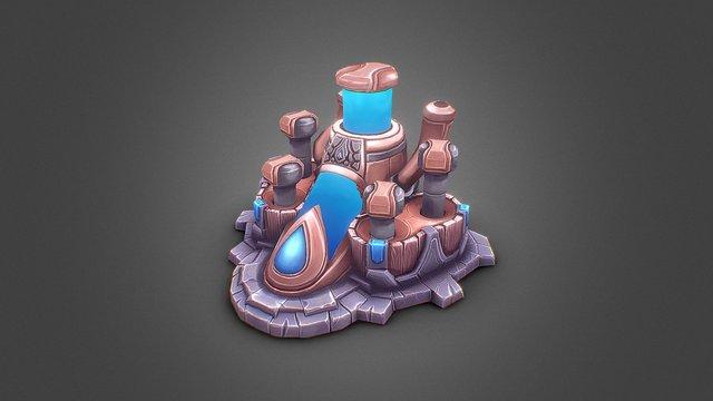 Water Extractor 3D Model