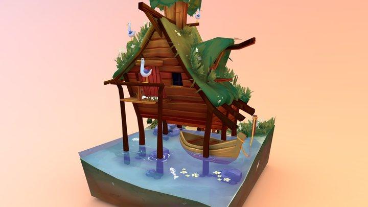 Seagull Shack 3D Model
