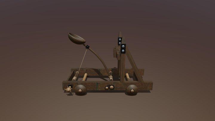 Catapulta/catapult 3D Model
