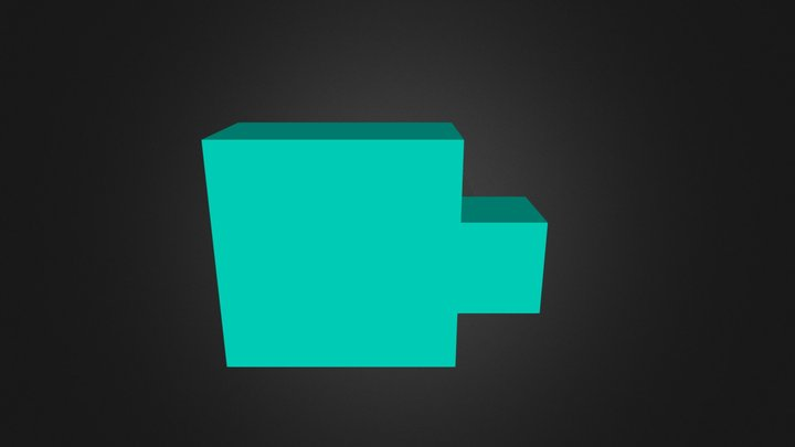 Turquoise Part 3D Model