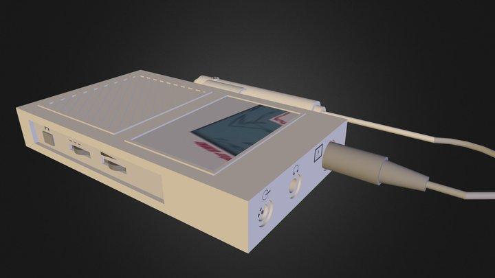 Doppler Vascular 8MHz (c/cable) 3D Model