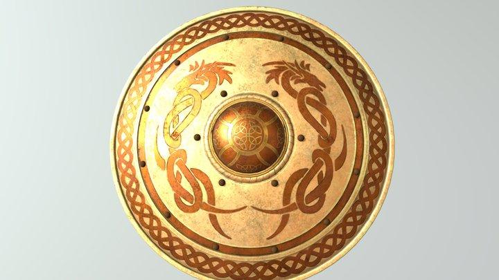Knight's shield 3D Model