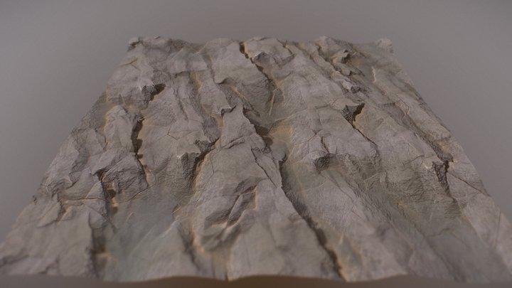 Rock material 3D Model