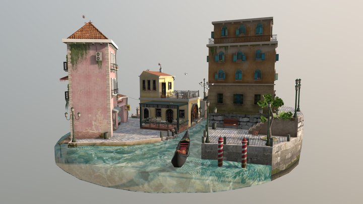 1DAE01_De_Backer_Eloise_Cityscene 3D Model